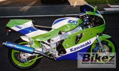 1990 Kawasaki ZXR 750