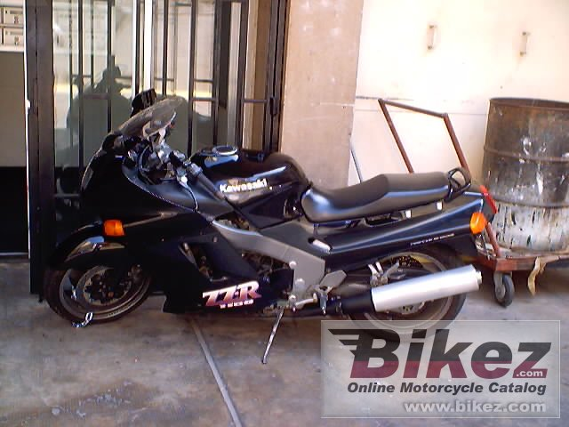 Big Kamal Nsouli zz-r 1100 picture and wallpaper from Bikez.com