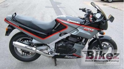 1992 Kawasaki GPZ 500 S (reduced effect 2)