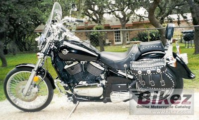 1995 Kawasaki VN 800 Vulcan specifications and pictures