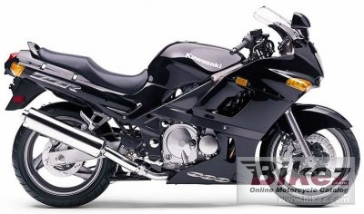1995 Kawasaki ZZR 600 specifications and pictures