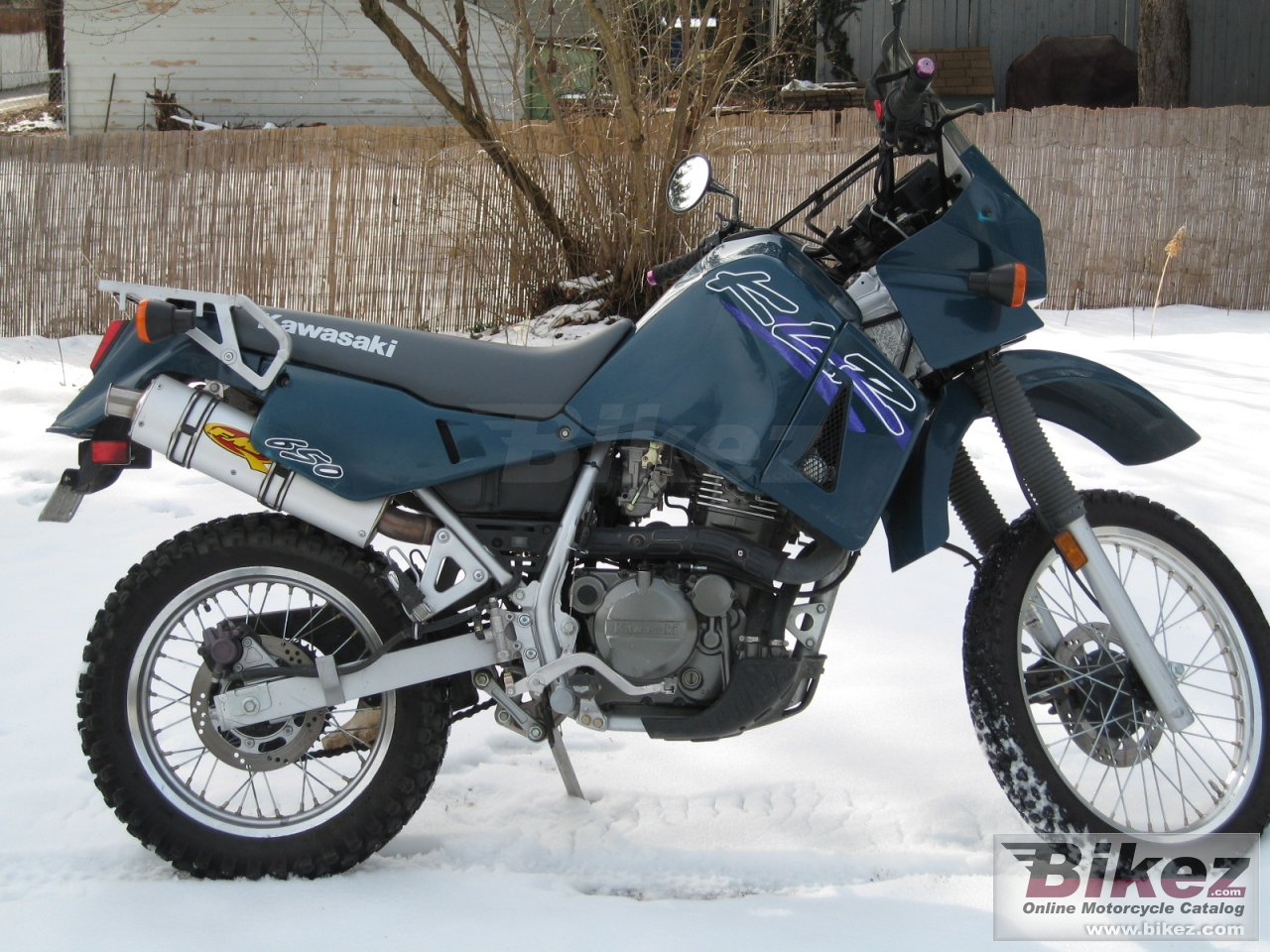 Big  klr 650 picture and wallpaper from Bikez.com