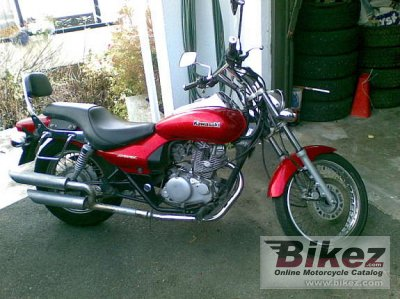 1997 Kawasaki Eliminator 125 specifications and pictures