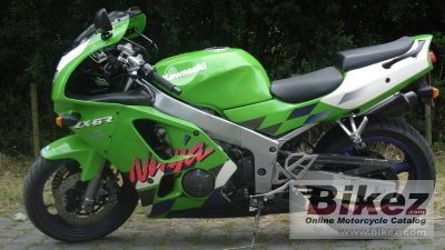 1997 Kawasaki ZX 6R Ninja