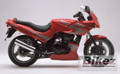 1998 Kawasaki GPZ 500 S specifications and pictures