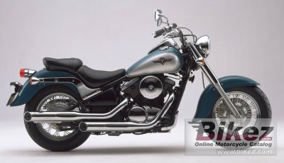 1998 Kawasaki VN 800 C Clic specifications and pictures