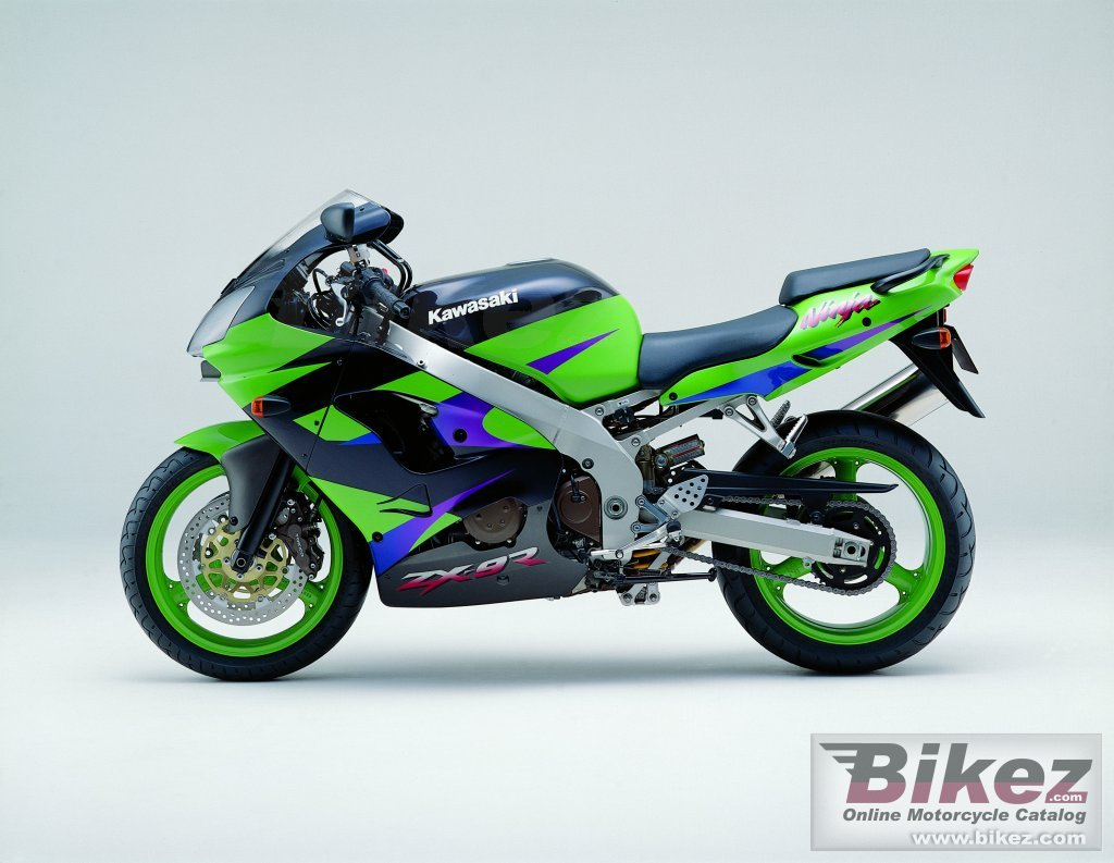 Big i. Published with permission. zx-9r ninja picture and wallpaper from Bikez.com
