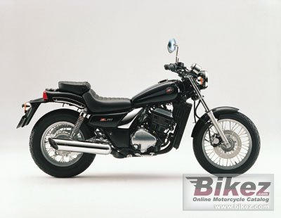 2001 Kawasaki EL 252 Eliminator specifications and pictures