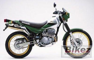 Kawasaki Super Sherpa Motorcycle For Sale
