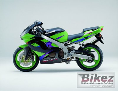 2001 Kawasaki ZX-9R Ninja specifications and pictures