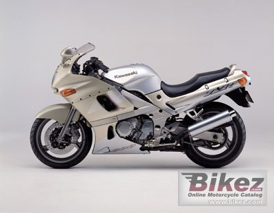 2001 Kawasaki ZZR 600 specifications and pictures