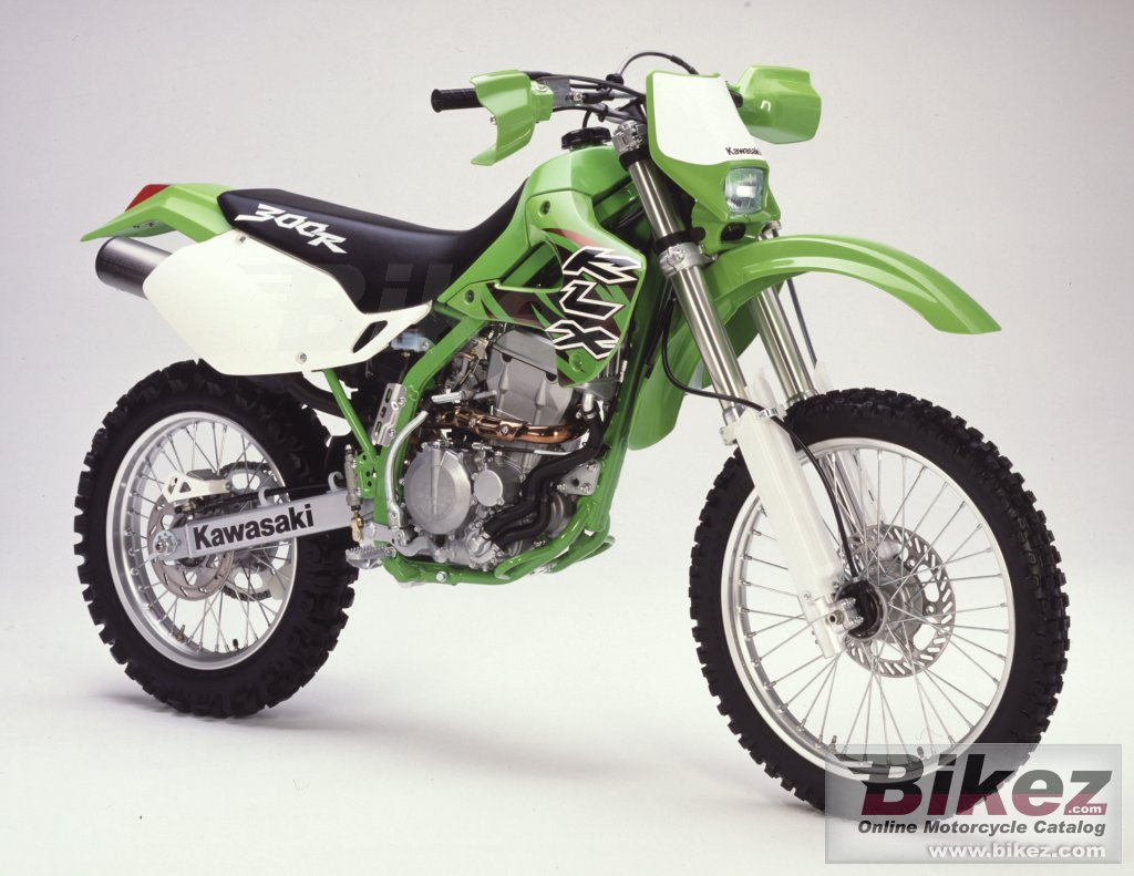 Big i. Published with permission. klx 300 r picture and wallpaper from Bikez.com