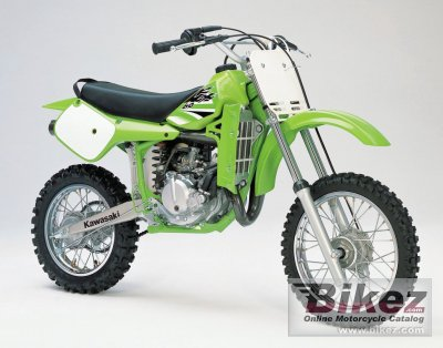 Specifications On A  Kawasaki Kx