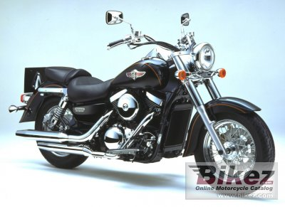 2002 Kawasaki VN 1500 Clic Fi specifications and pictures