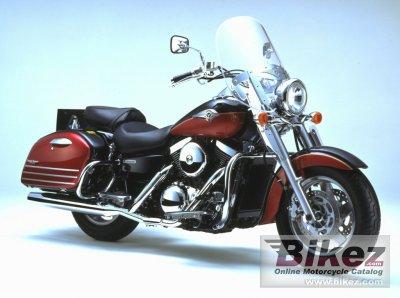 2002 Kawasaki VN 1500 Classic Tourer Fi
