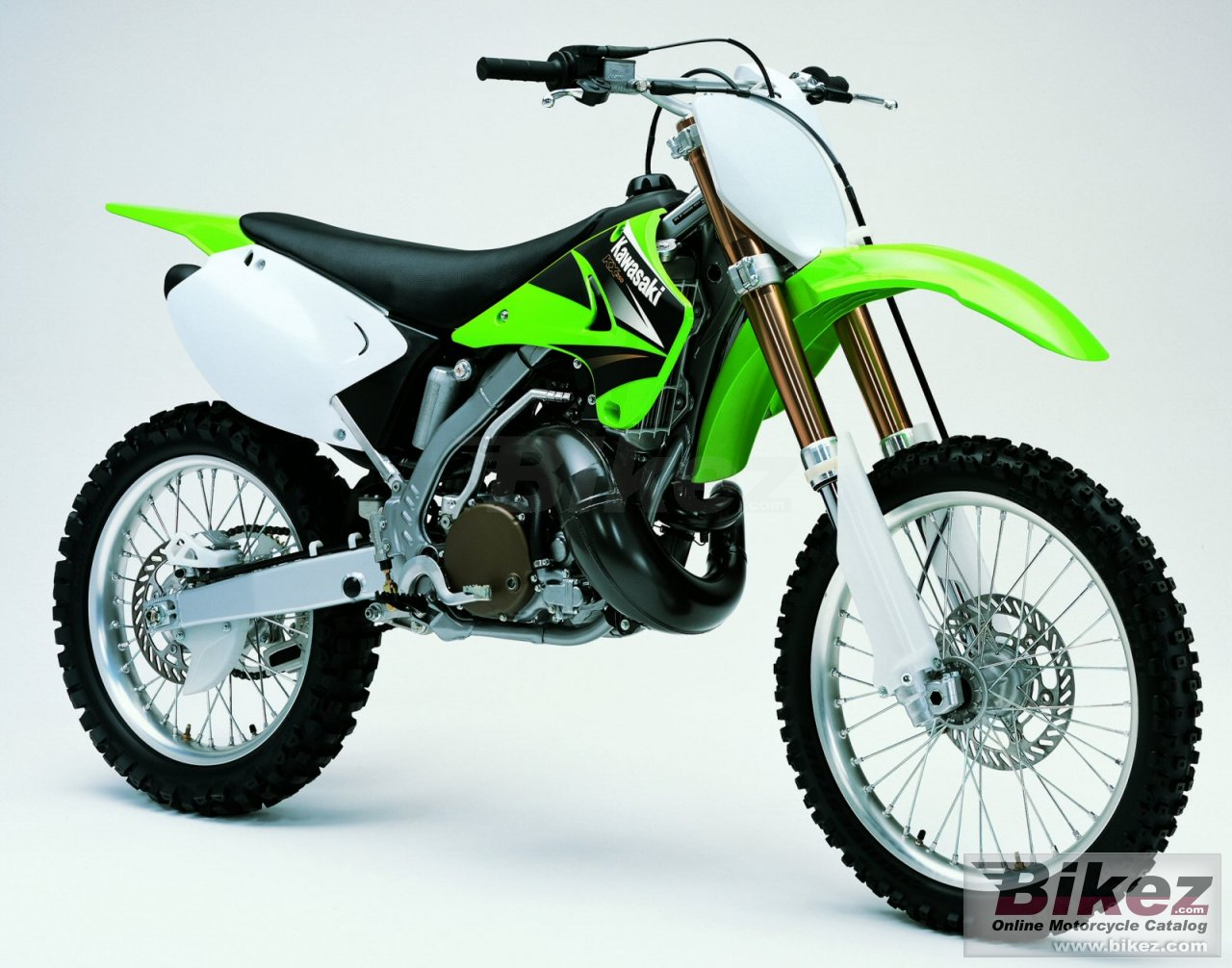 Big Kawasaki kx 250 picture and wallpaper from Bikez.com