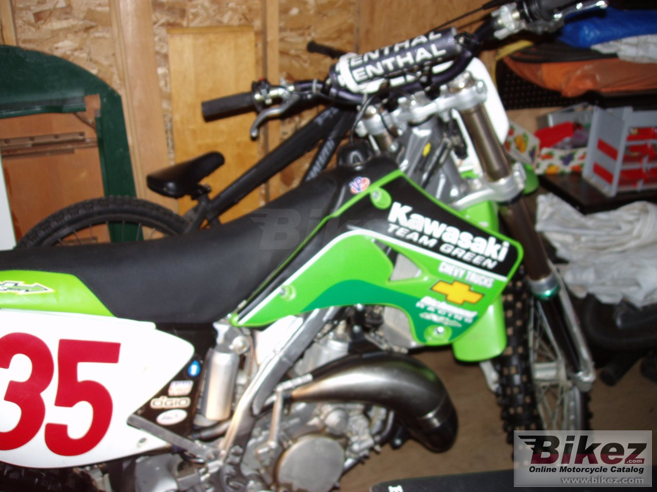 Big  125 kx 125 picture and wallpaper from Bikez.com