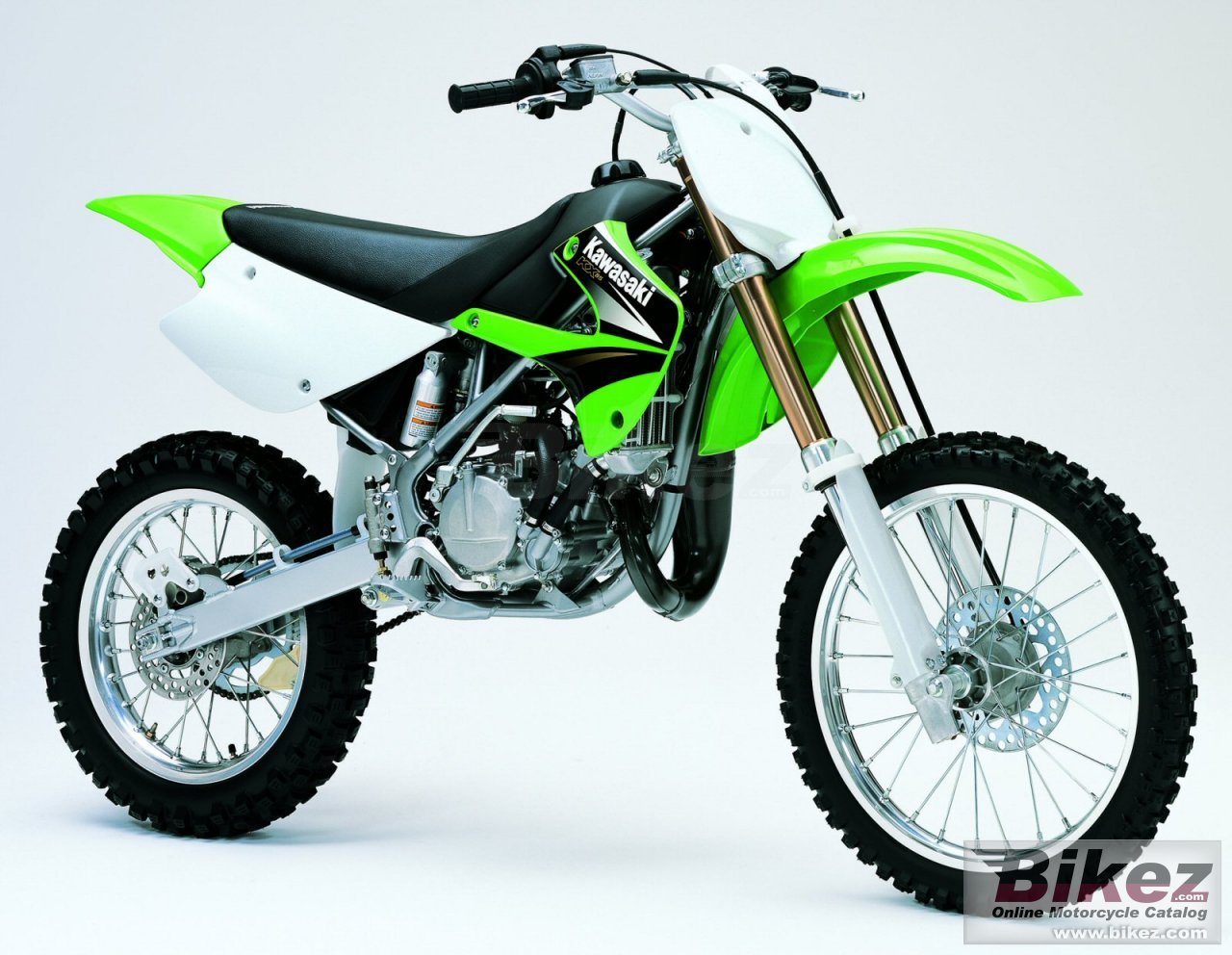 Big Kawasaki kx 85-ii picture and wallpaper from Bikez.com