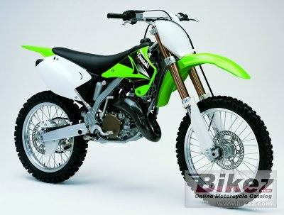 2004 Kawasaki Kx 125 Specifications And Pictures