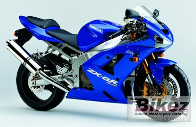 2004 Kawasaki Ninja ZX-6R specifications and pictures