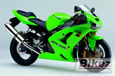 2004 Kawasaki Ninja ZX-6RR specifications and pictures