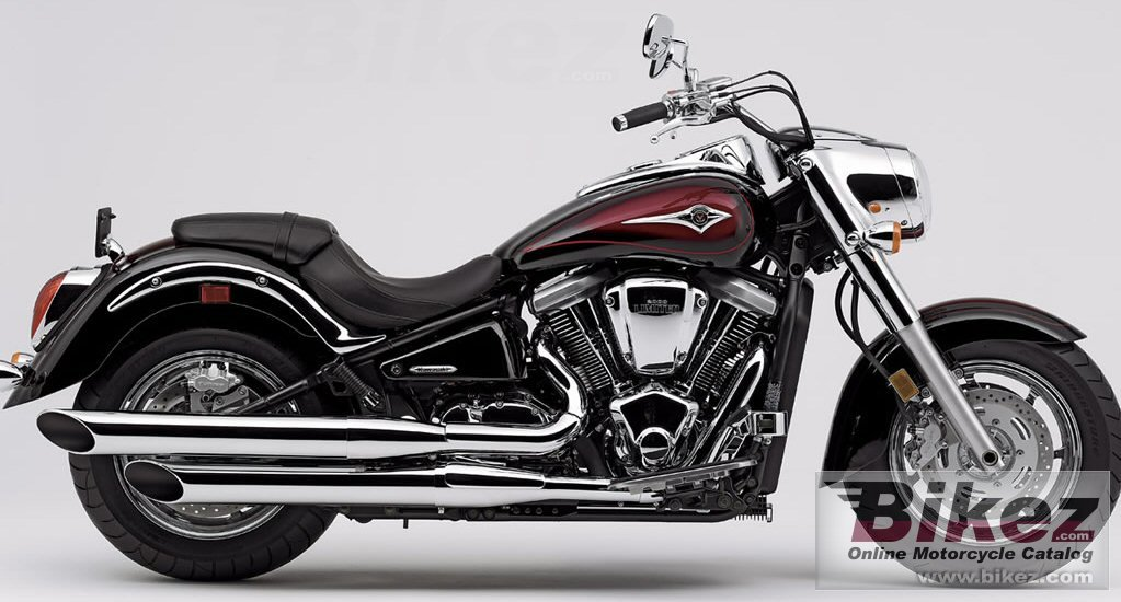 Big Kawasaki vulcan 2000 limited picture and wallpaper from Bikez.com