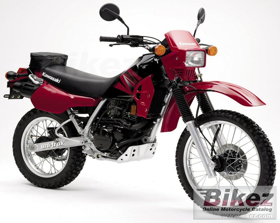Big Kawasaki klr 250 picture and wallpaper from Bikez.com