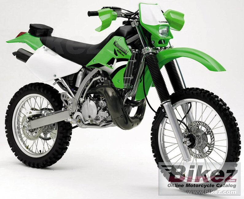 Big Kawasaki kdx 200 picture and wallpaper from Bikez.com