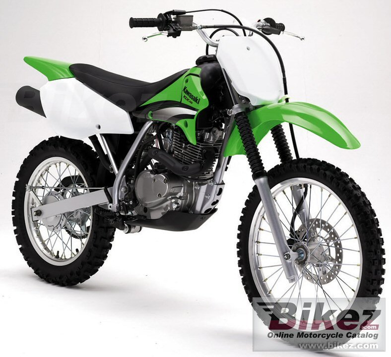 Big Kawasaki klx 125 l picture and wallpaper from Bikez.com