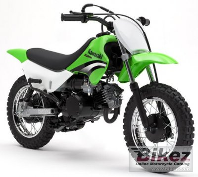 2005 Kawasaki KDX 50 specifications and pictures