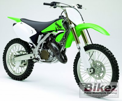 2005 Kawasaki Kx 125 Specifications And Pictures