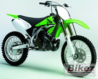 2005 kawasaki kx 250 specifications and pictures