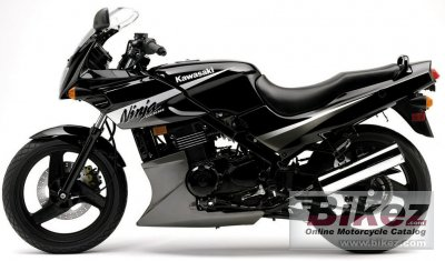 2005 Kawasaki Ninja 500 R specifications and pictures