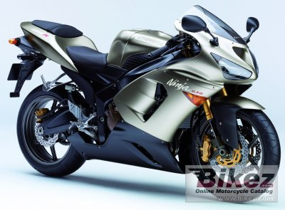 2005 Kawasaki Ninja ZX-6 R specifications and pictures