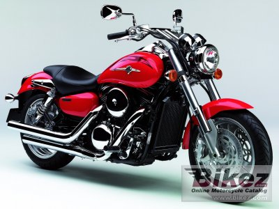 2005 Kawasaki Vulcan 1600 Mean Streak Specifications And Pictures