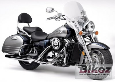 2005 Kawasaki Vulcan 1600 Nomad specifications and pictures