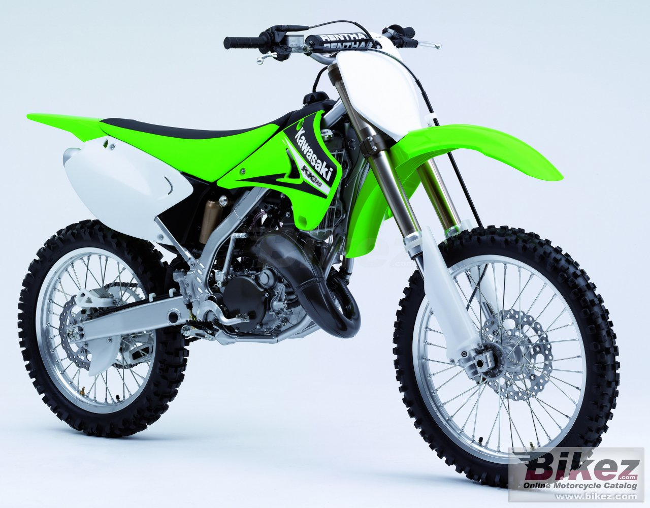 Big Kawasaki kx 125 picture and wallpaper from Bikez.com