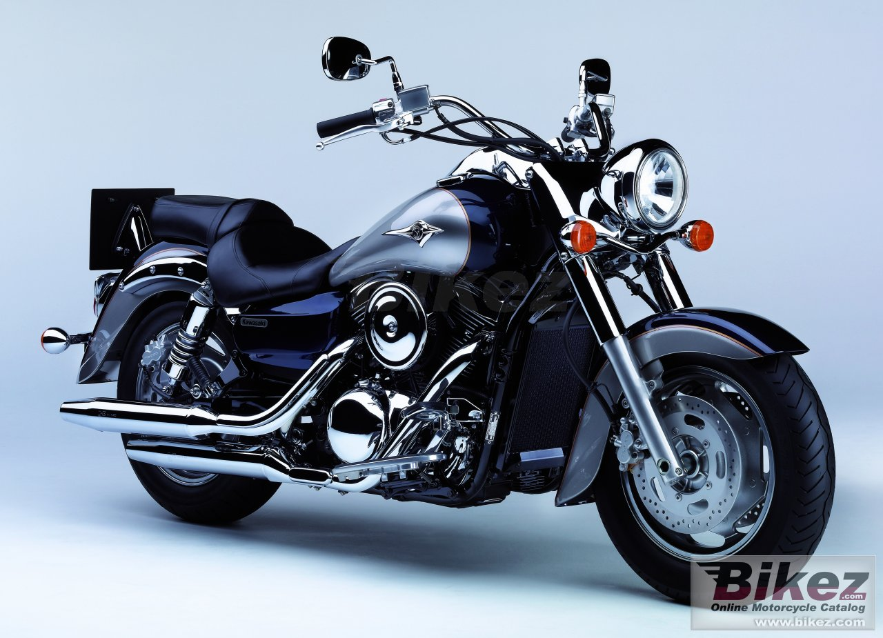 Big Kawasaki vulcan 1600 classic picture and wallpaper from Bikez.com