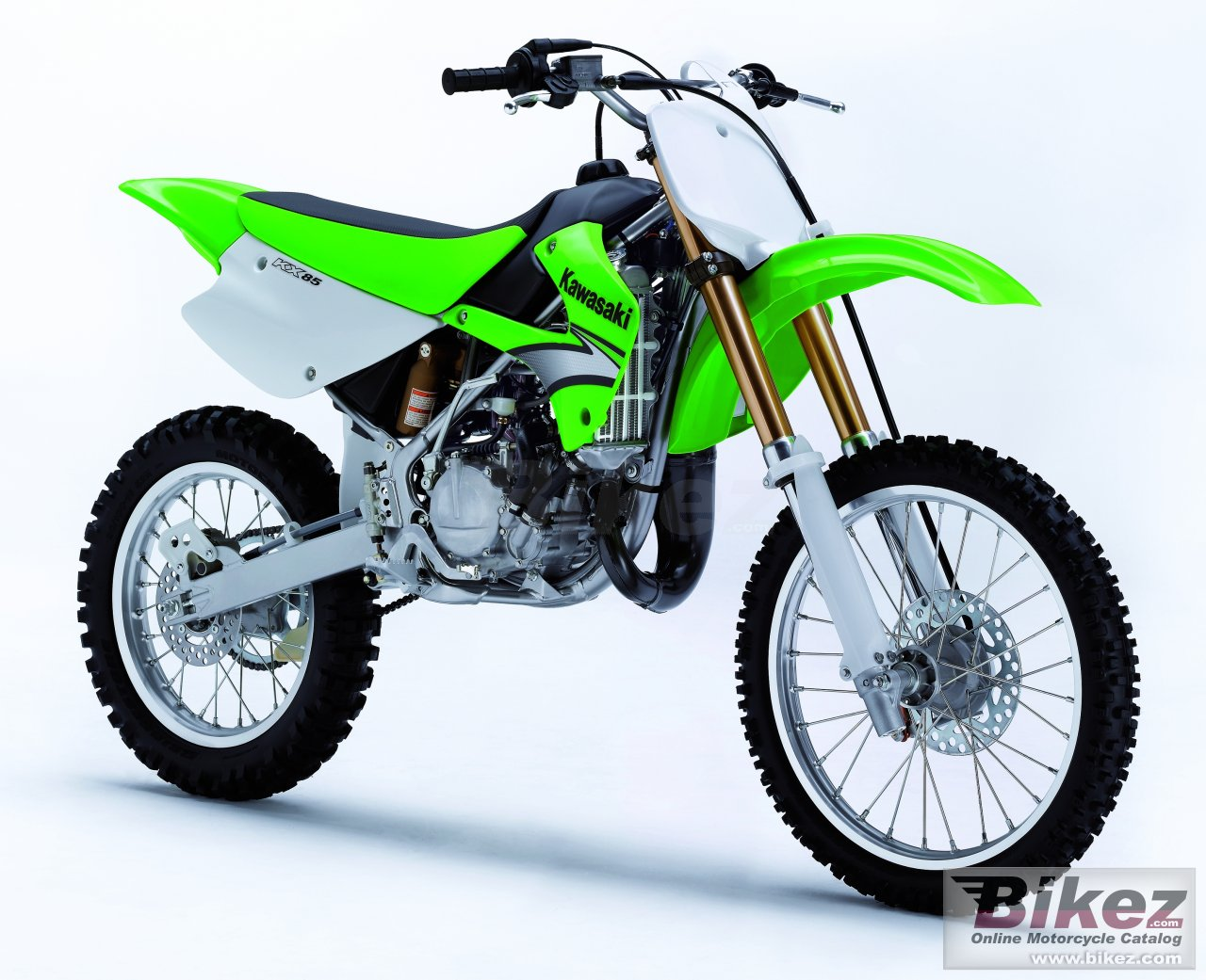Big Kawasaki kx85 ii picture and wallpaper from Bikez.com