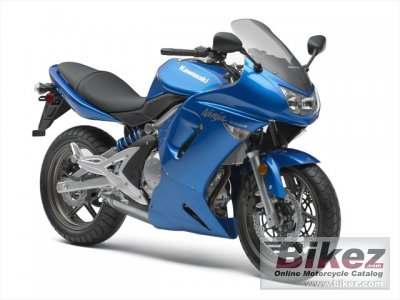 2007 Kawasaki Ninja 650R specifications and pictures