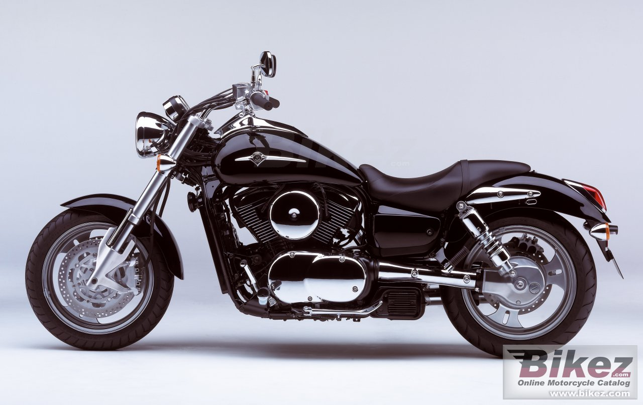 Big Kawasaki vulcan 1600 mean streak picture and wallpaper from Bikez.com