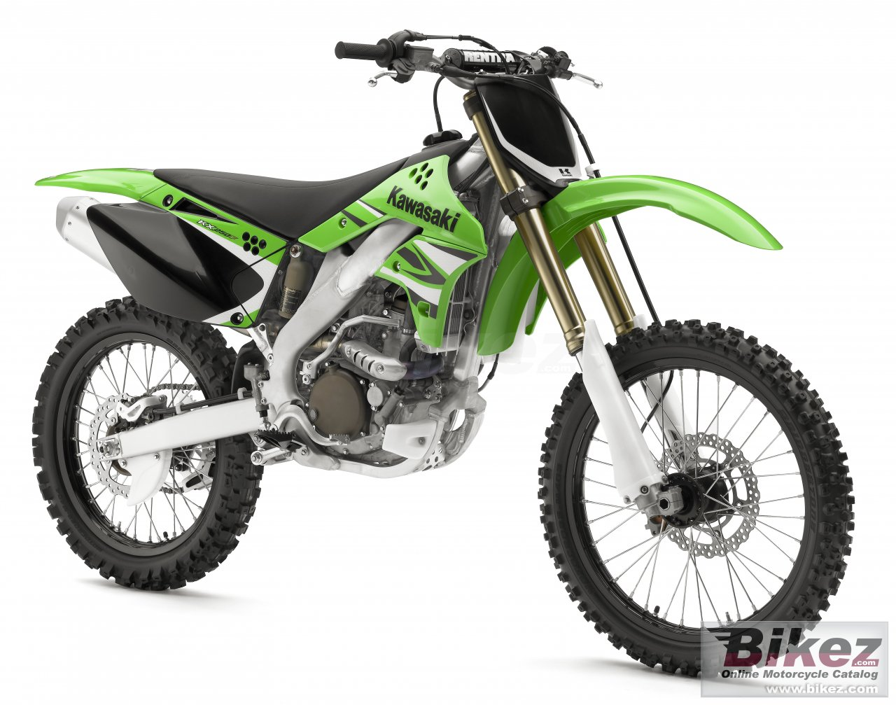 Big Kawasaki kx250f picture and wallpaper from Bikez.com
