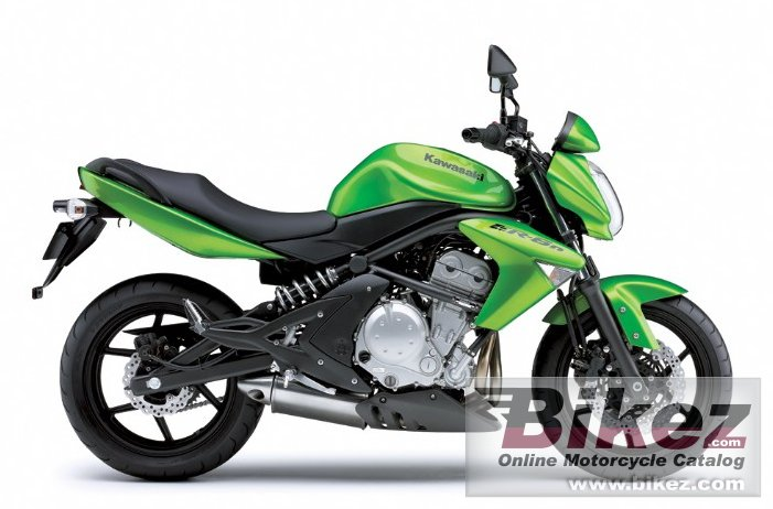 Big Kawasaki er-6n picture and wallpaper from Bikez.com