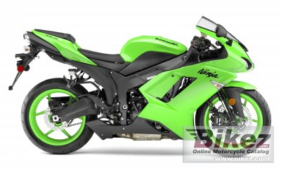 2008 Kawasaki Ninja ZX-6R specifications and pictures