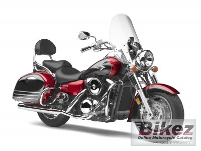 2008 Kawasaki Vulcan 1600 Nomad specifications and pictures