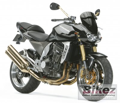 2008 Kawasaki Z1000 specifications and pictures