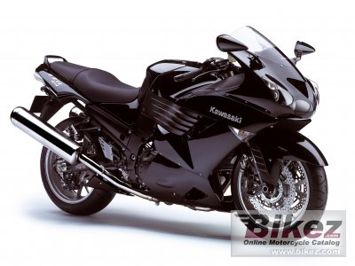 2008 Kawasaki ZZR1400 specifications and pictures