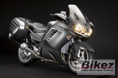 2009 Kawasaki 1400 GTR specifications and pictures