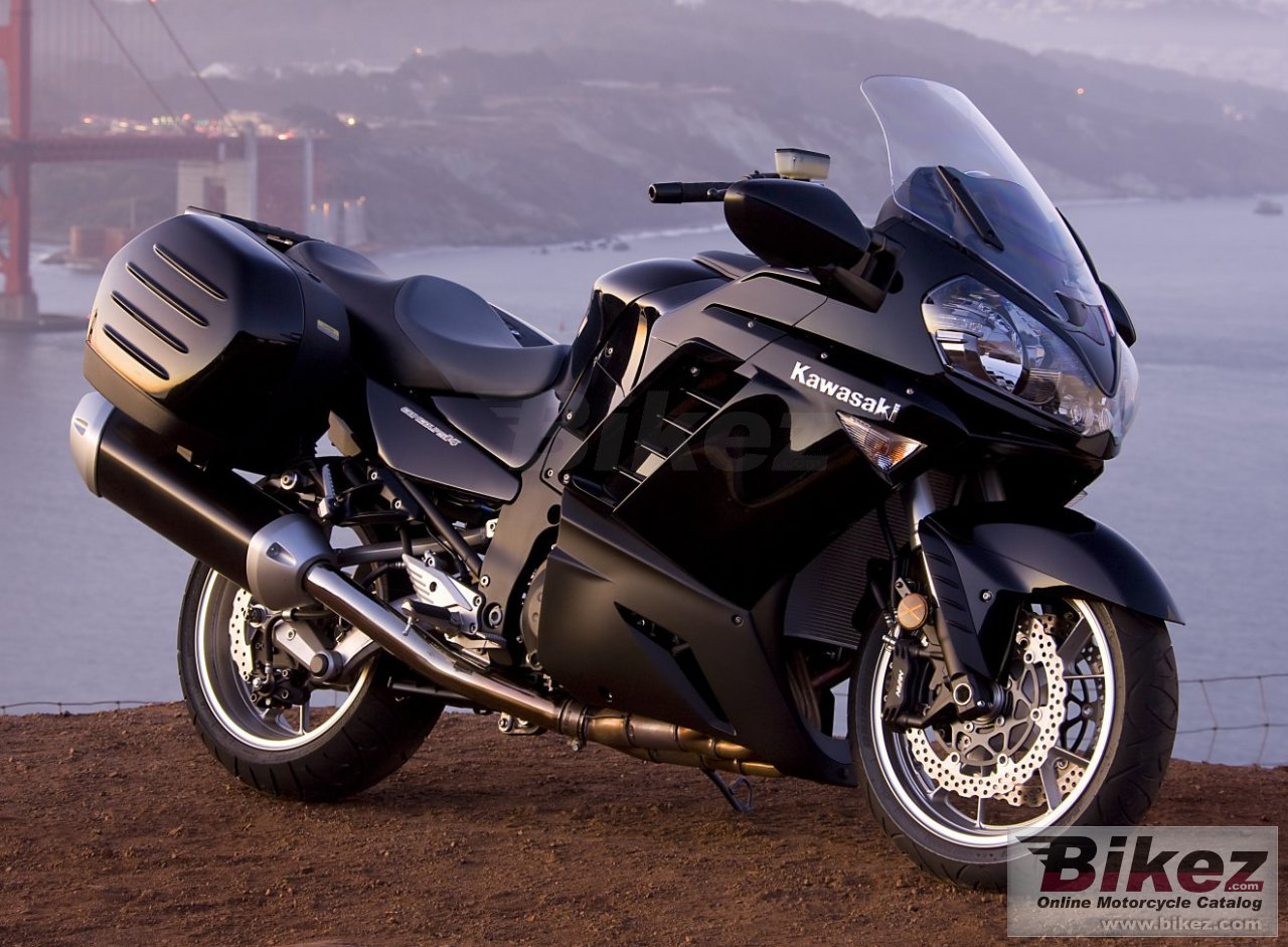 Big Kawasaki concours 14 picture and wallpaper from Bikez.com