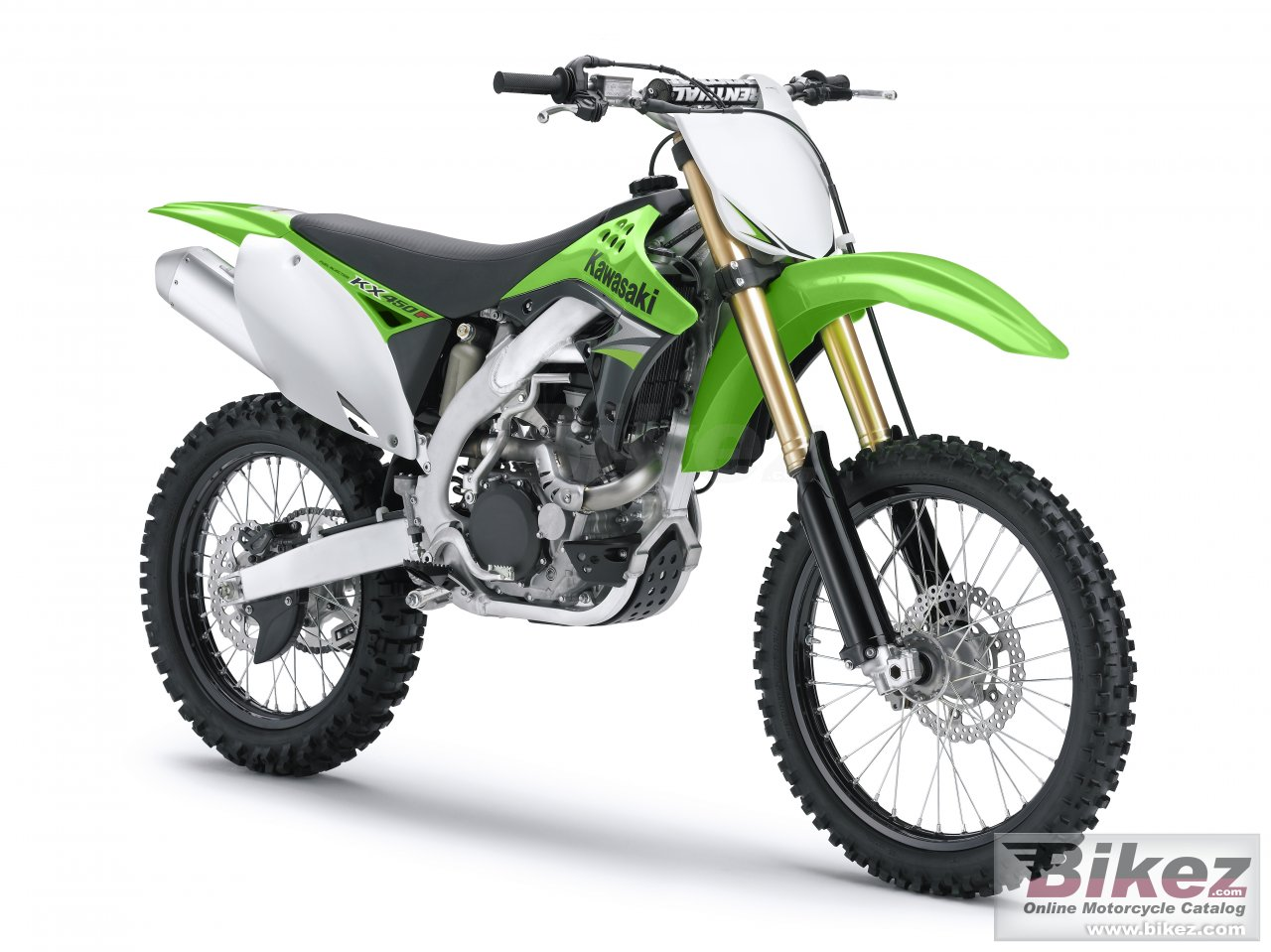 Big Kawasaki kx450f picture and wallpaper from Bikez.com